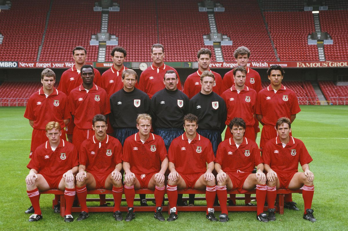 Wales Football Squad World Cup1994 Qualifying Campaign