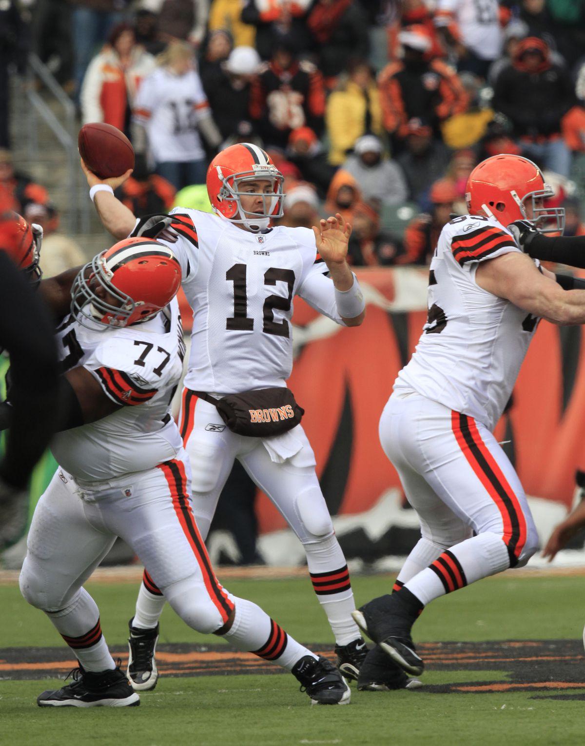 NFL: DEC 19 Browns at Bengals
