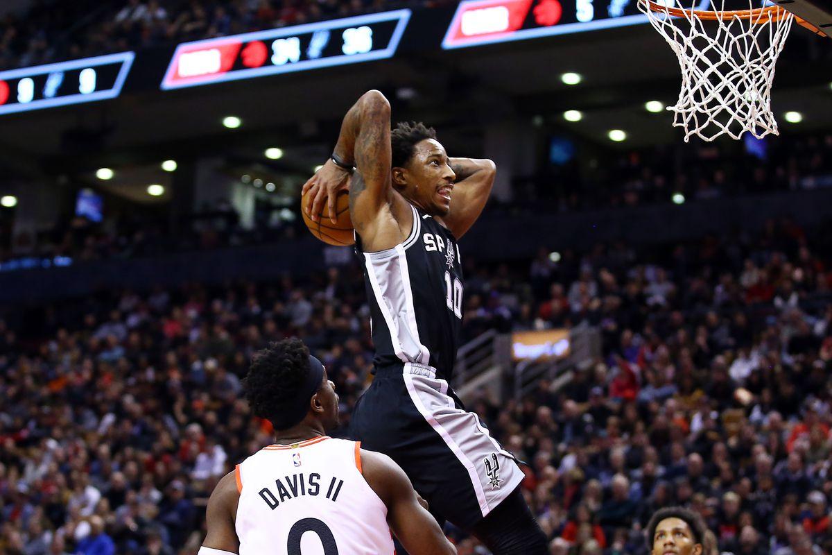 Five thoughts recap: San Antonio Spurs 105, Toronto Raptors 104, DeMar DeRozan