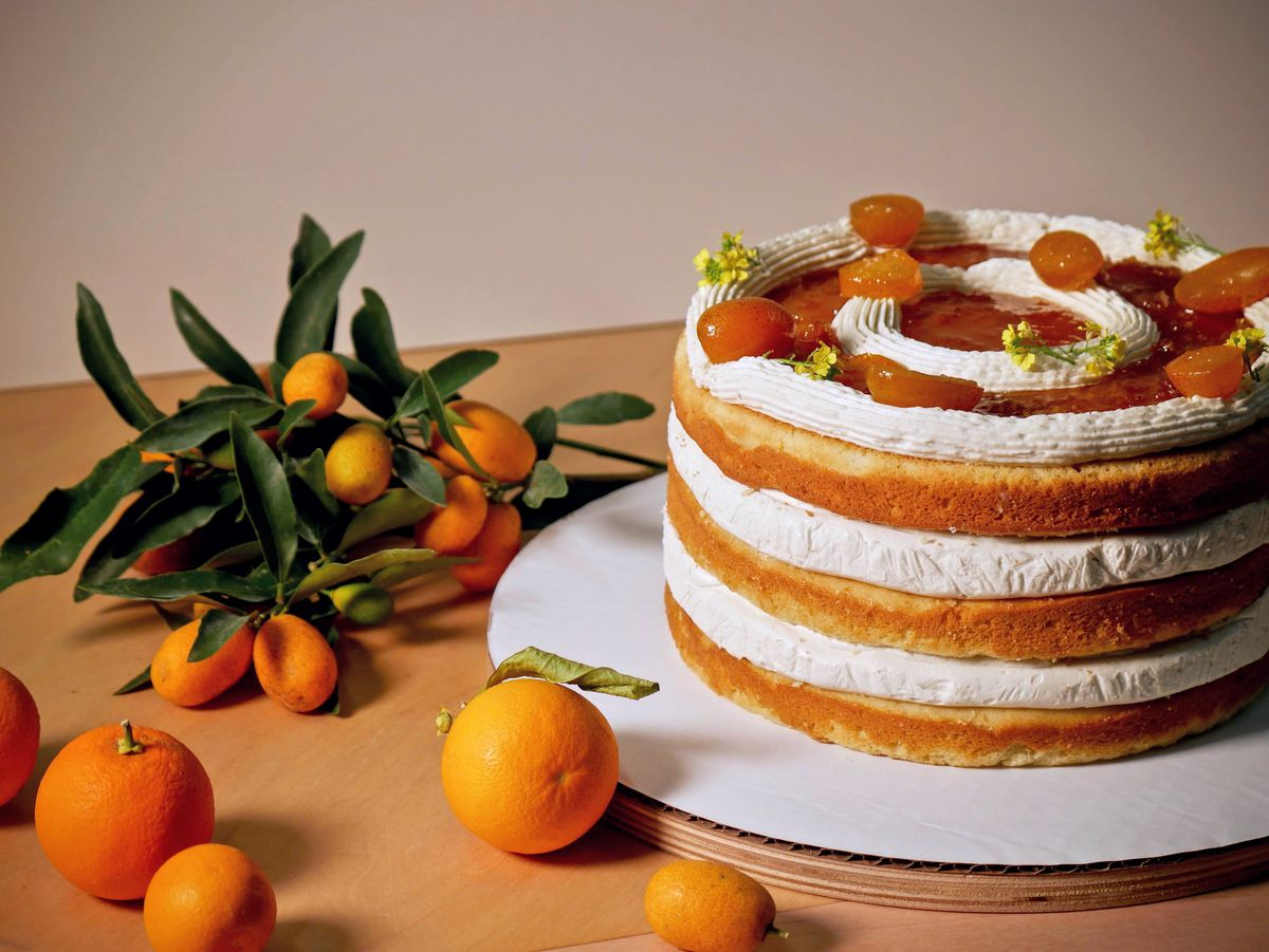The citrus creme cake from Abby Jane Bakeshop