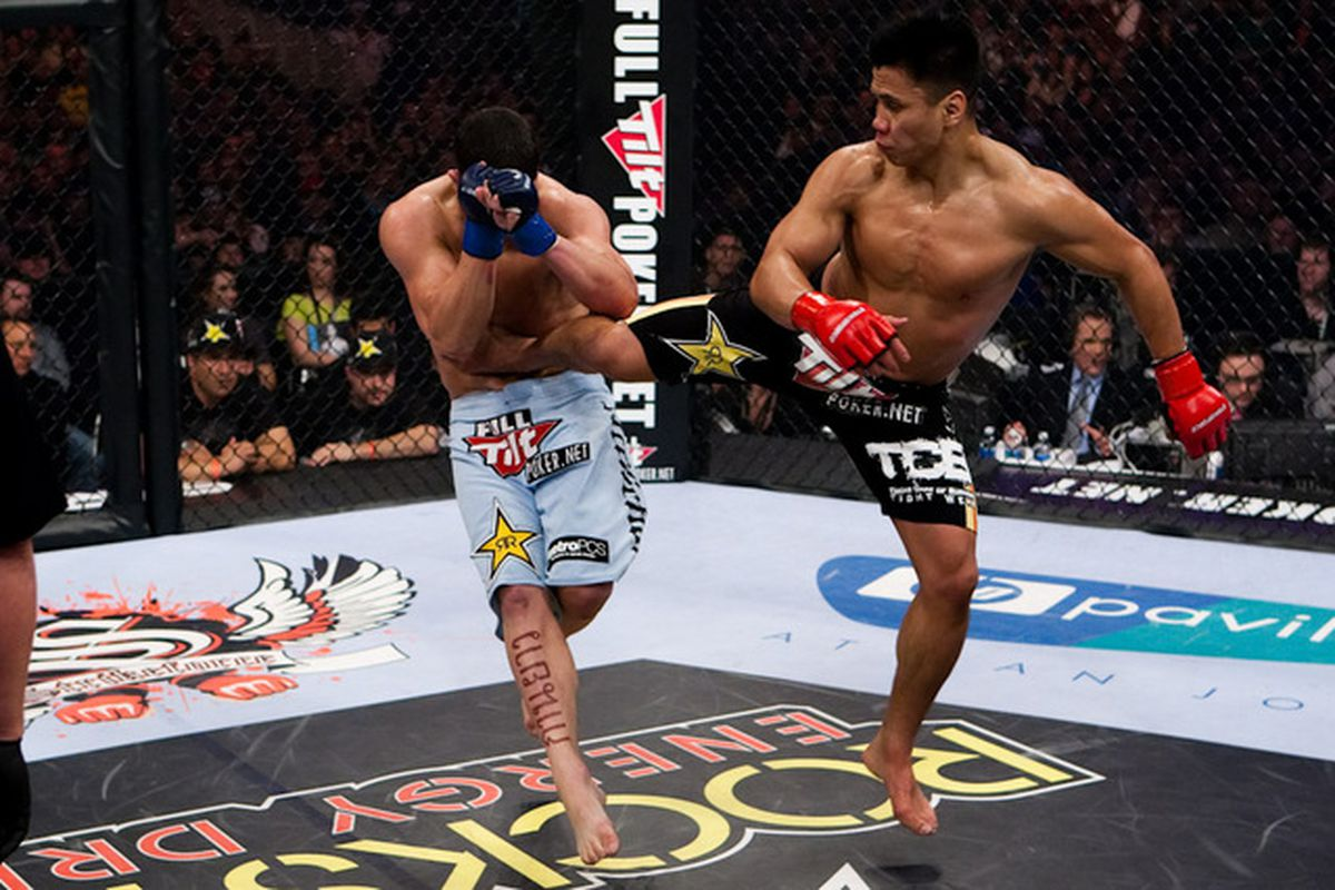 The Striking Zone Cung Le Brings Sanshou And Spinning Back Kicks Into Ufc 139 Debut Mmamania Com