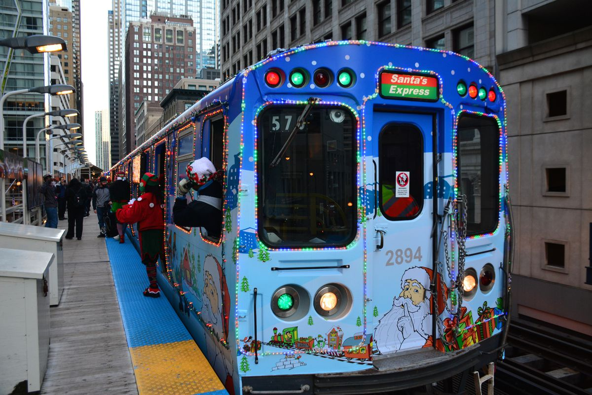 Cta Holiday Train Schedule 2020 Ride the festive CTA holiday train: schedule and dates   Curbed