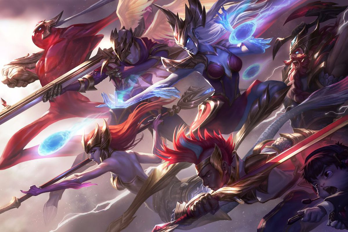 New SKT skins will be updated with unique sound effects