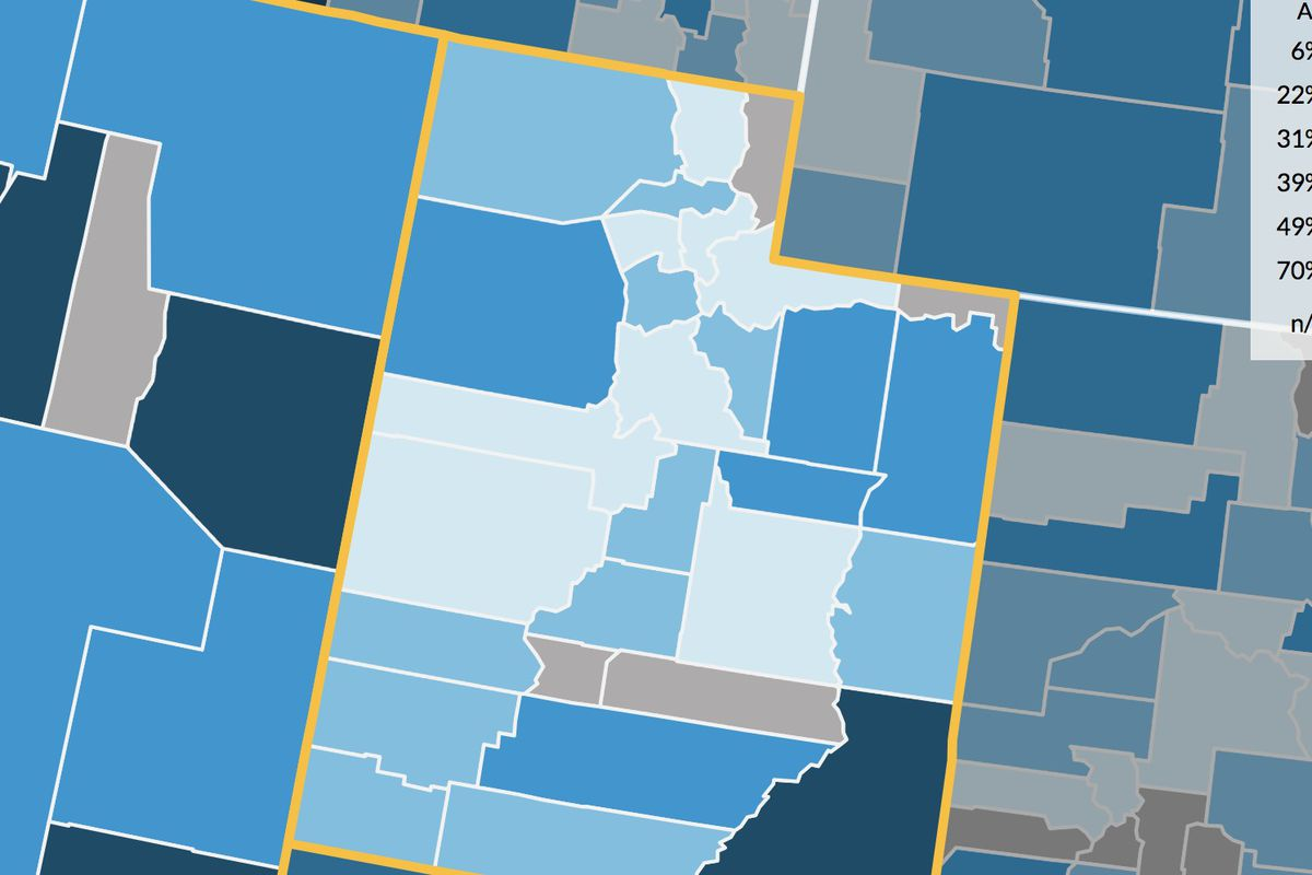A new data report from the Urban Institute broke down the country's debt by state, city and county levels