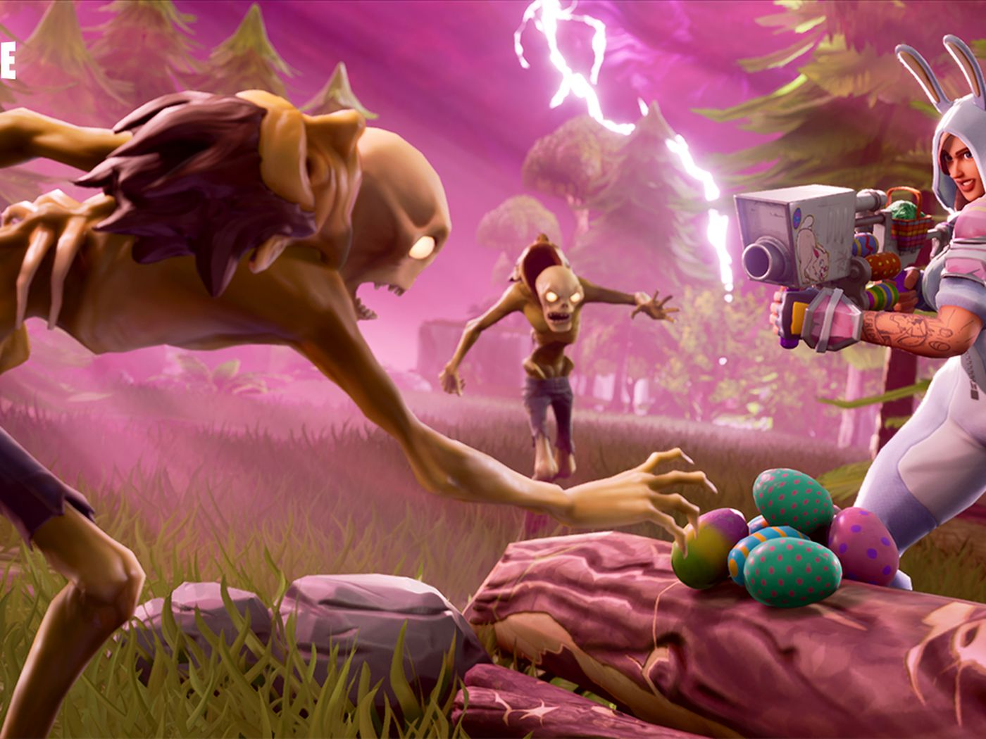 Fortnite Update Adds Guided Missiles Easter Egg Launchers And