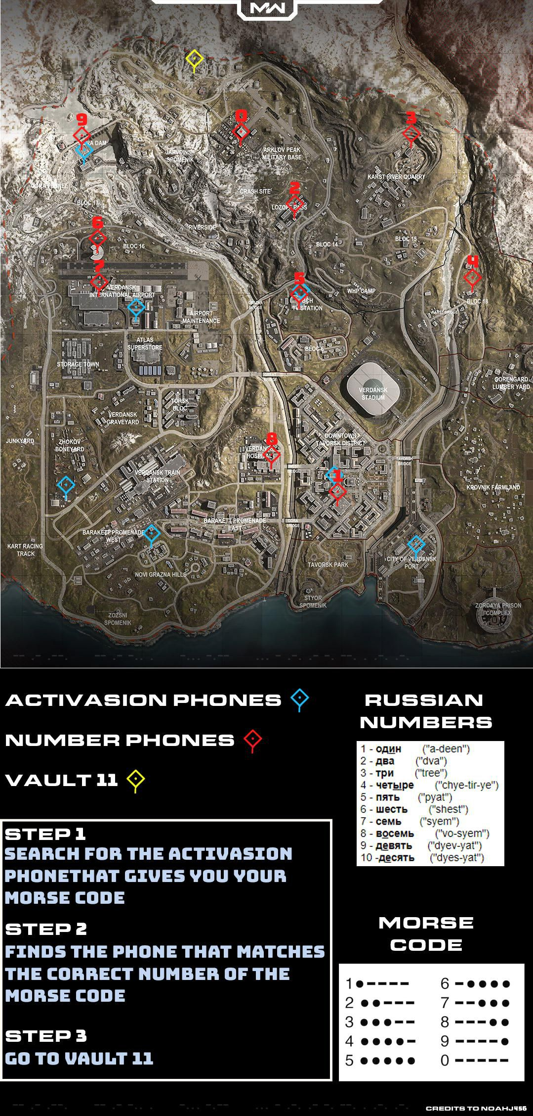 Bunker 11 guide map