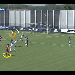 Lazaro gets an outstretched foot to it and sticks the ball in the far corner, but the goal is ruled out for offside.