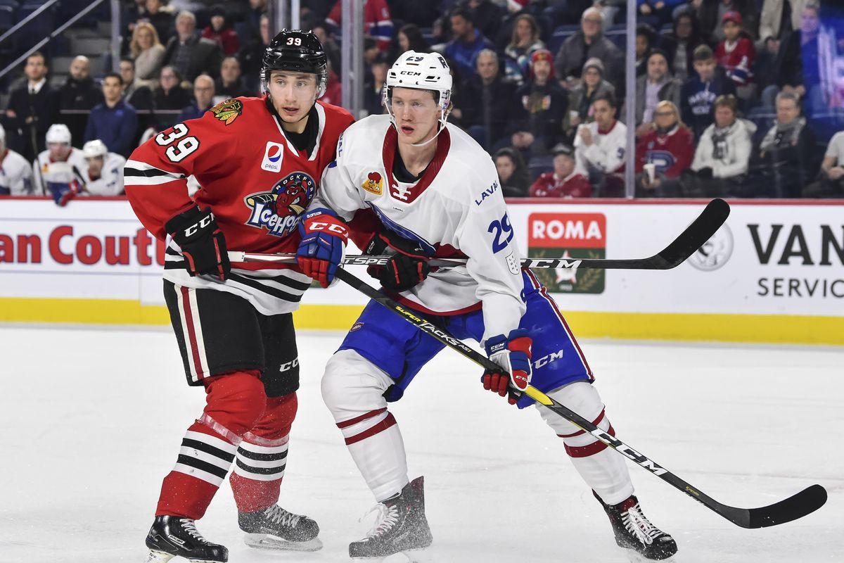 Rockford Ice Hogs v Laval Rocket