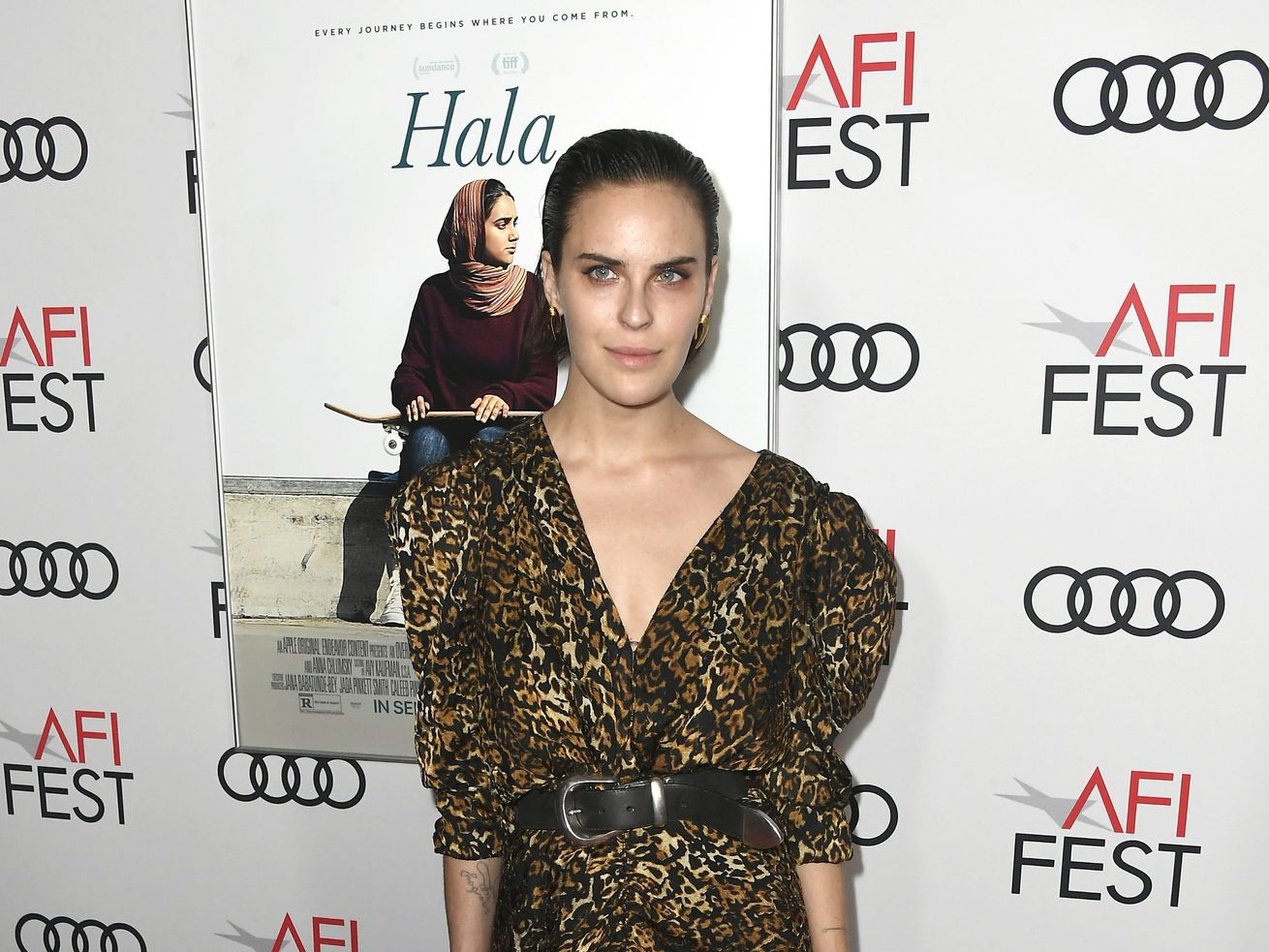 """Tallulah Willis attends the screening of """"Hala"""" at TCL Chinese 6 Theatres on November 18, 2019 in Hollywood, California."""