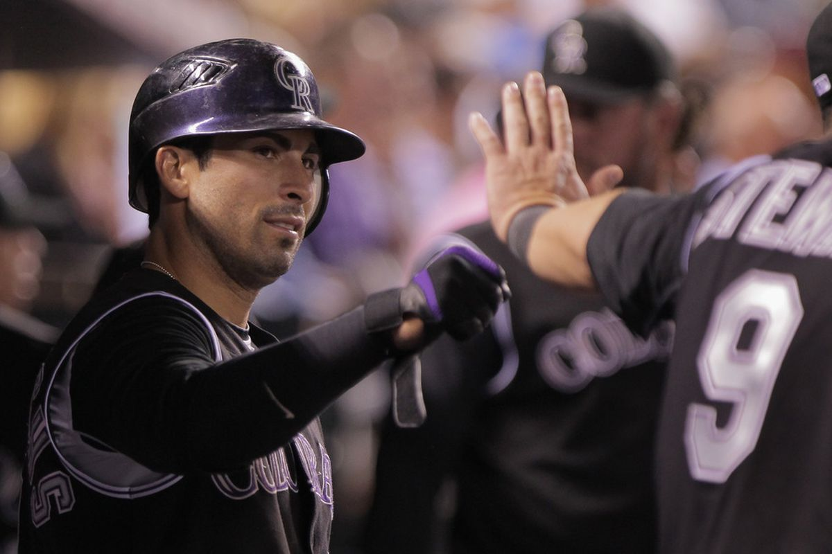 How much longer will Ryan Spilborghs be a Rockie?