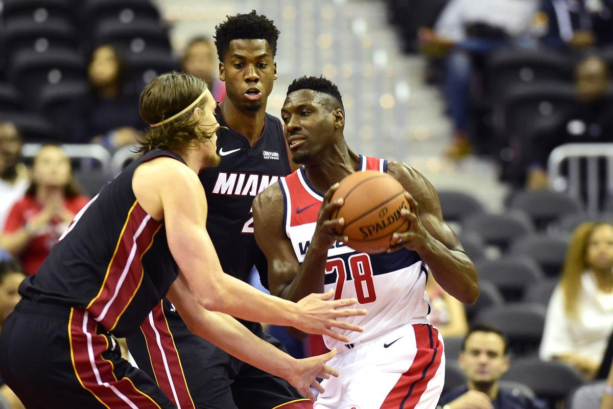 NBA: Preseason-Miami Heat at Washington Wizards