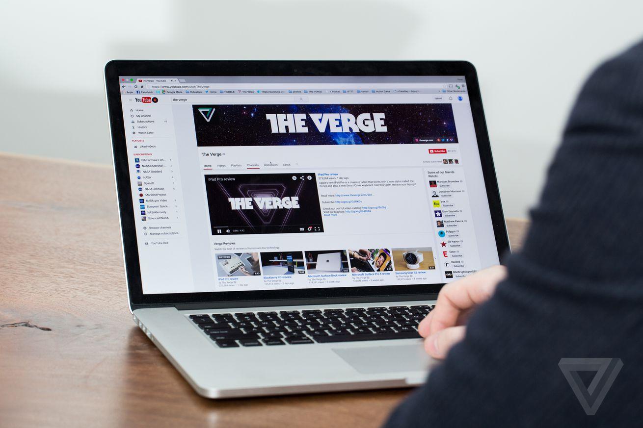 YouTube stock