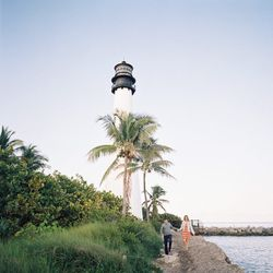 """What better symbol to represent everlasting love than Dade-County's oldest standing structure? Built in 1825, the lighthouse at <a href=""""http://www.floridastateparks.org/capeflorida/"""">Bill Baggs Cape Florida State Park</a> (otherwise known as """"el farito"""")"""
