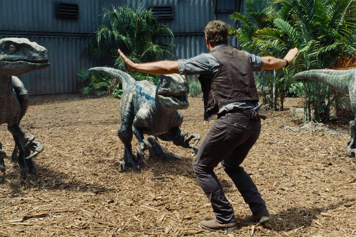 """Chris Pratt Stars as Owen in """"Jurassic World."""" The franchise is offering one lucky fan the chance to be eaten by a dinosaur in the third installment of the series."""