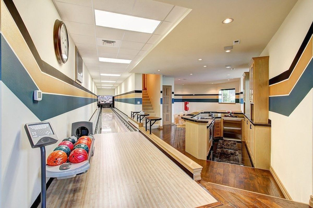Strike Now For A 1m Stanwood House With A Bowling Alley Curbed Seattle