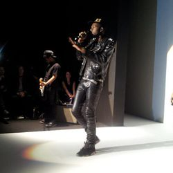 Leandra Medine aka The Man Repeller snapped Theophilus London doing his thing.