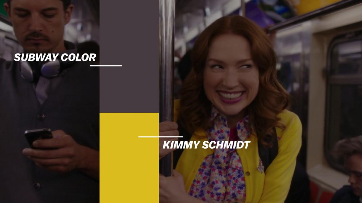 kimmy schmidt subway