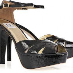 Black platform sandals $118 (orig. $295)