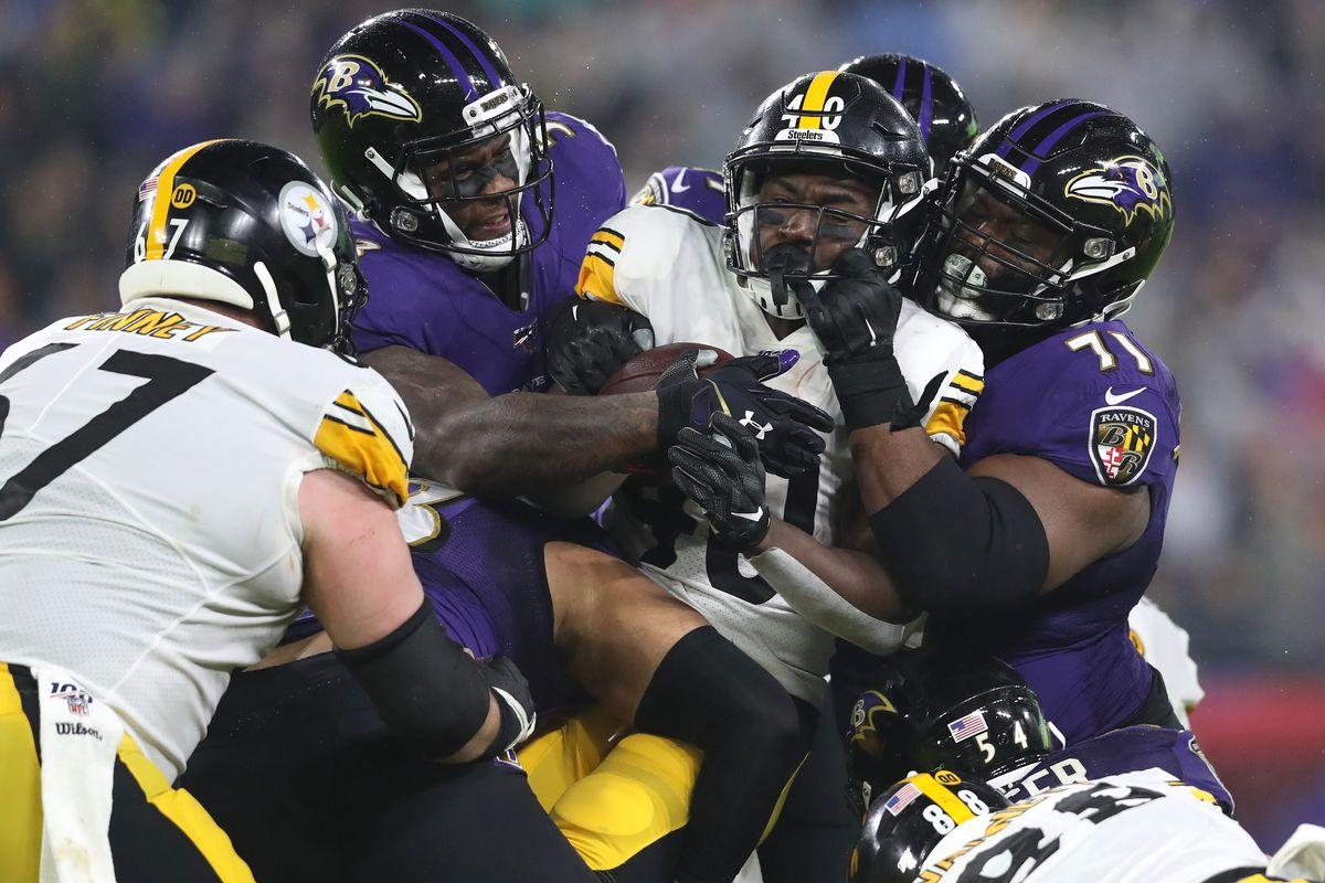 Final Score Ravens Embarrass Undisciplined Steelers 28 10 In Week 17 Behind The Steel Curtain