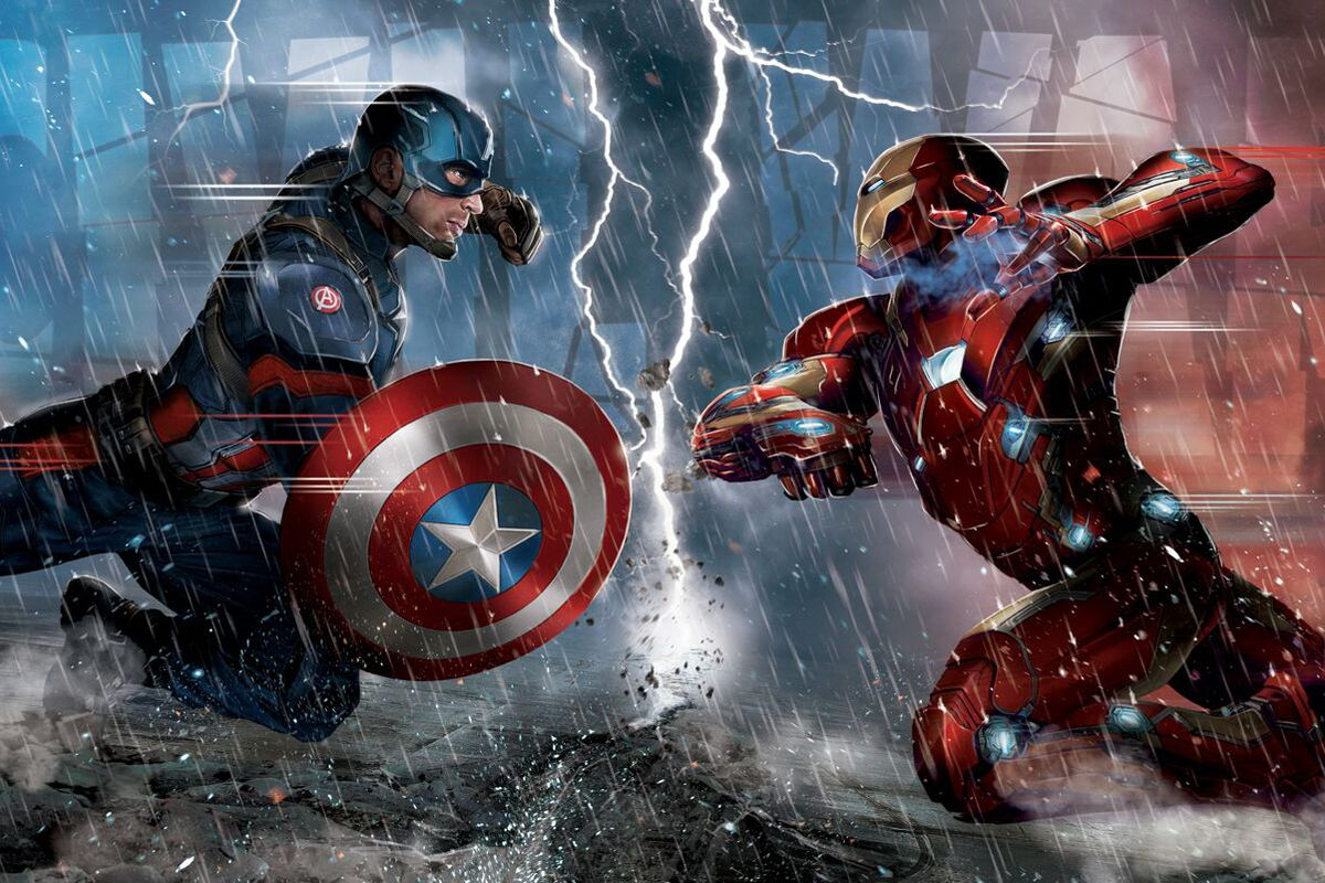 Jeremy Renner Tweets Art Revealing Who Ll Punch Who In Captain America Civil War Polygon
