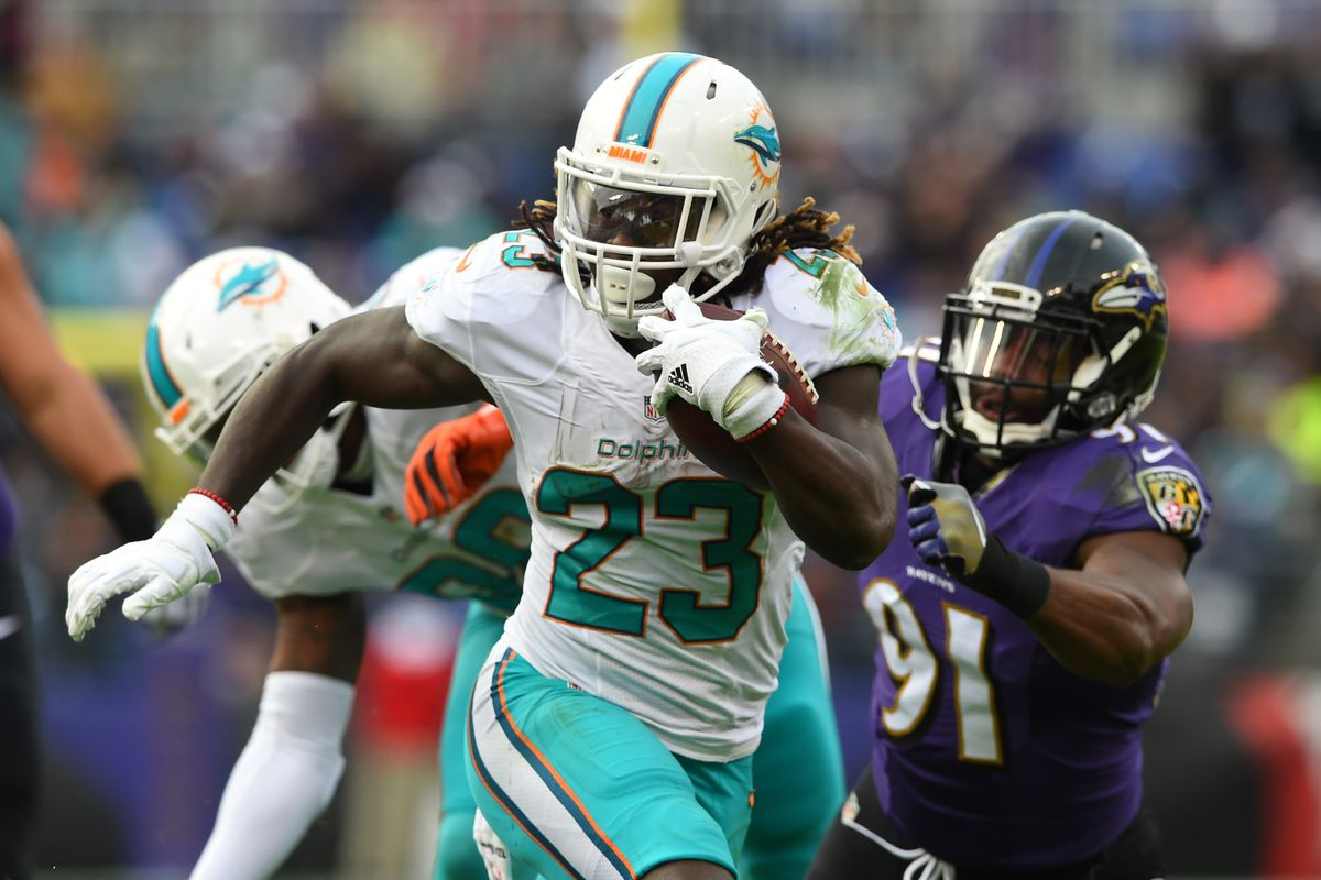 Miami Dolphins Depth Chart Projections Running Back