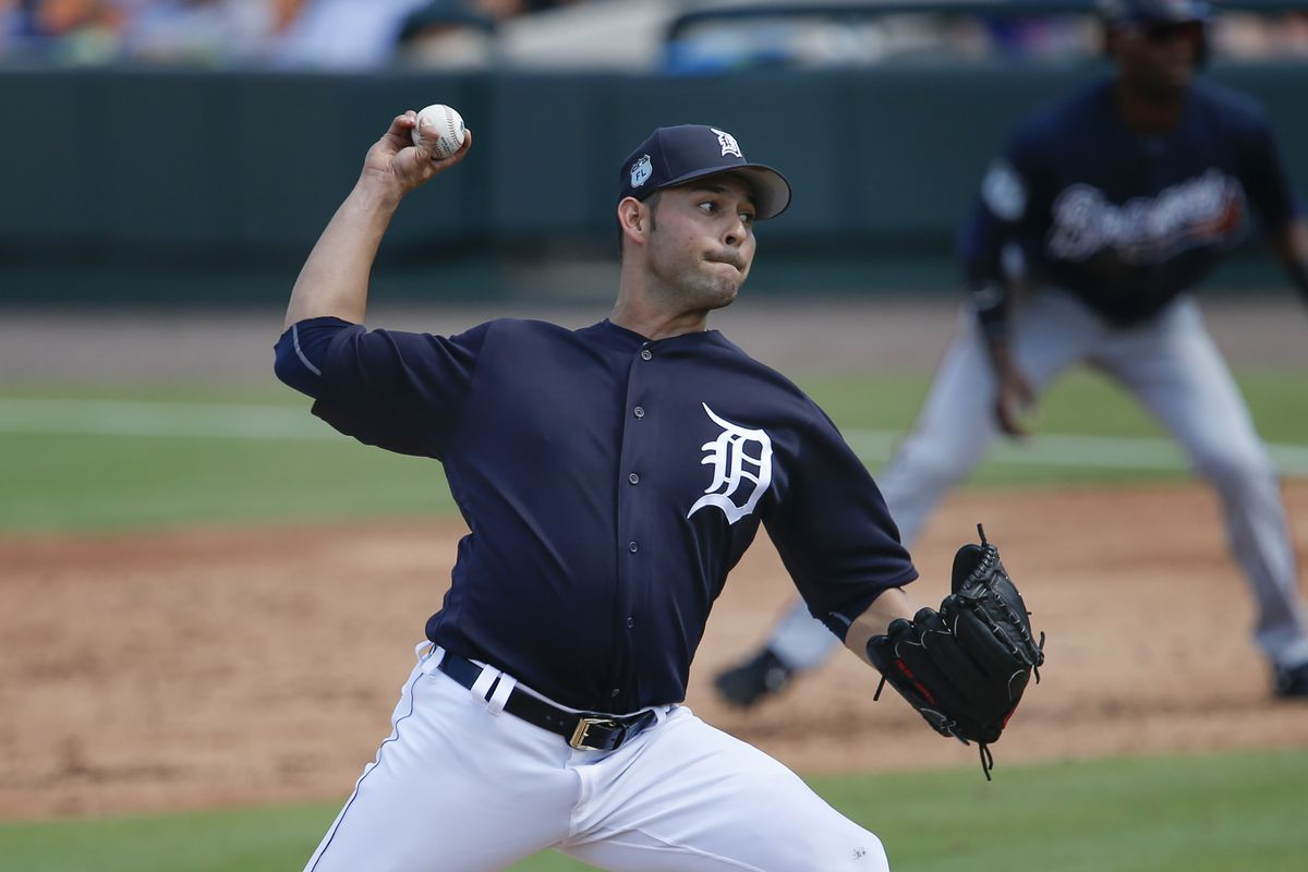 MLB: Spring Training-Atlanta Braves at Detroit Tigers