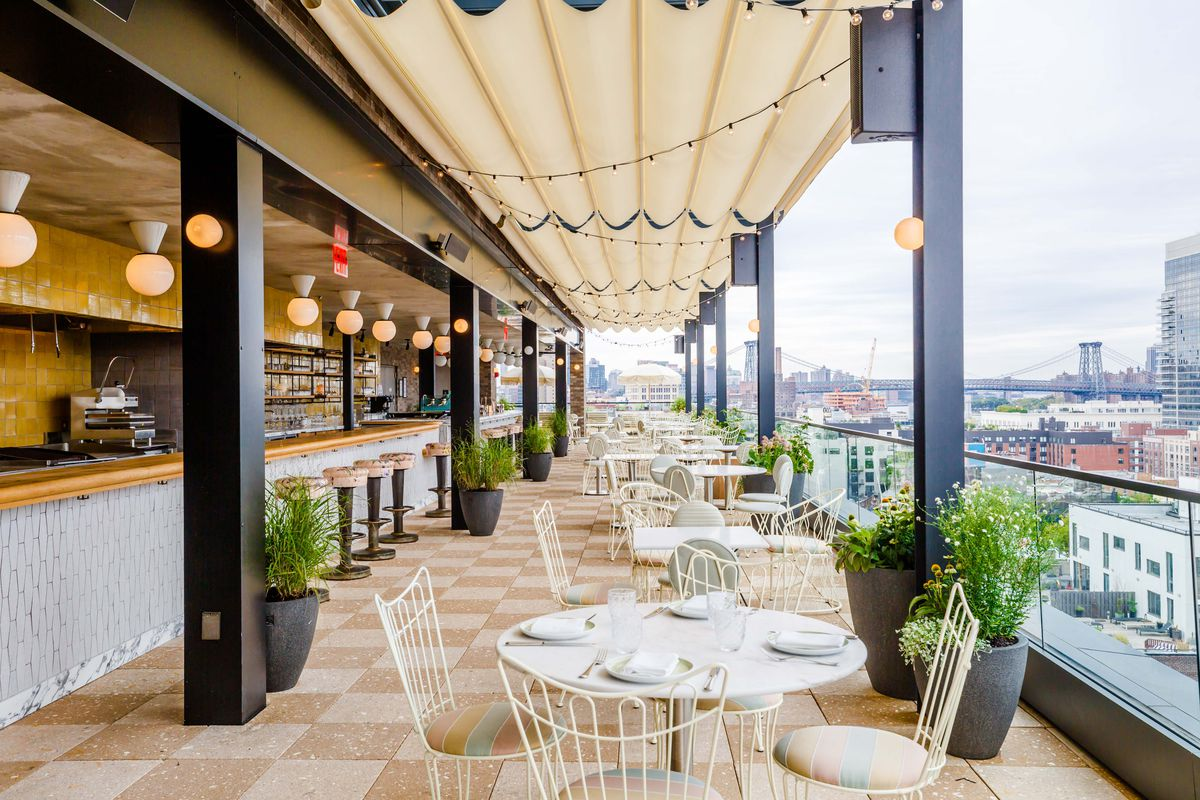 Summerly Opens On The Hoxton S Rooftop In Williamsburg Today