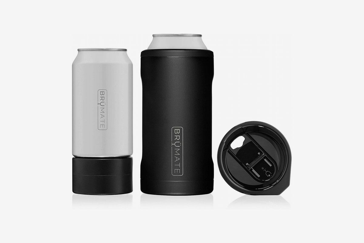 A 3-in-1 stainless steel insulated can cooler