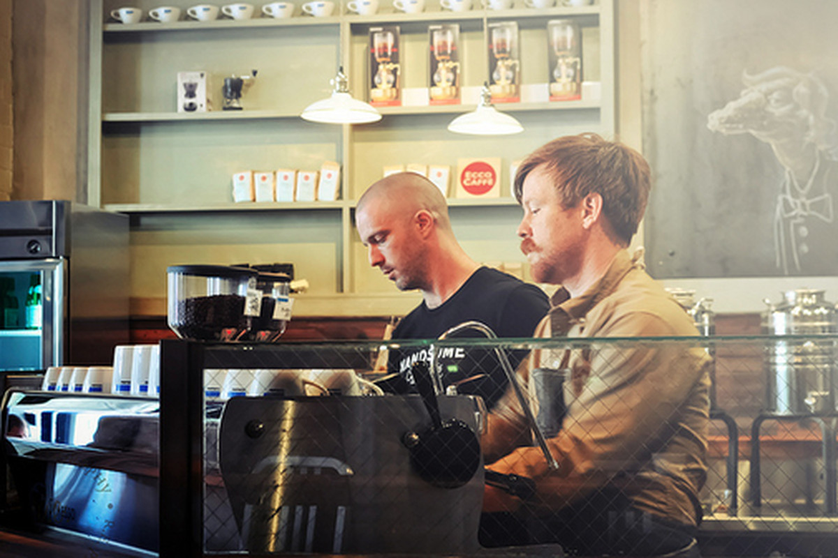 Handsome Coffee Roasters pop up at CoffeeBar, Downtown.