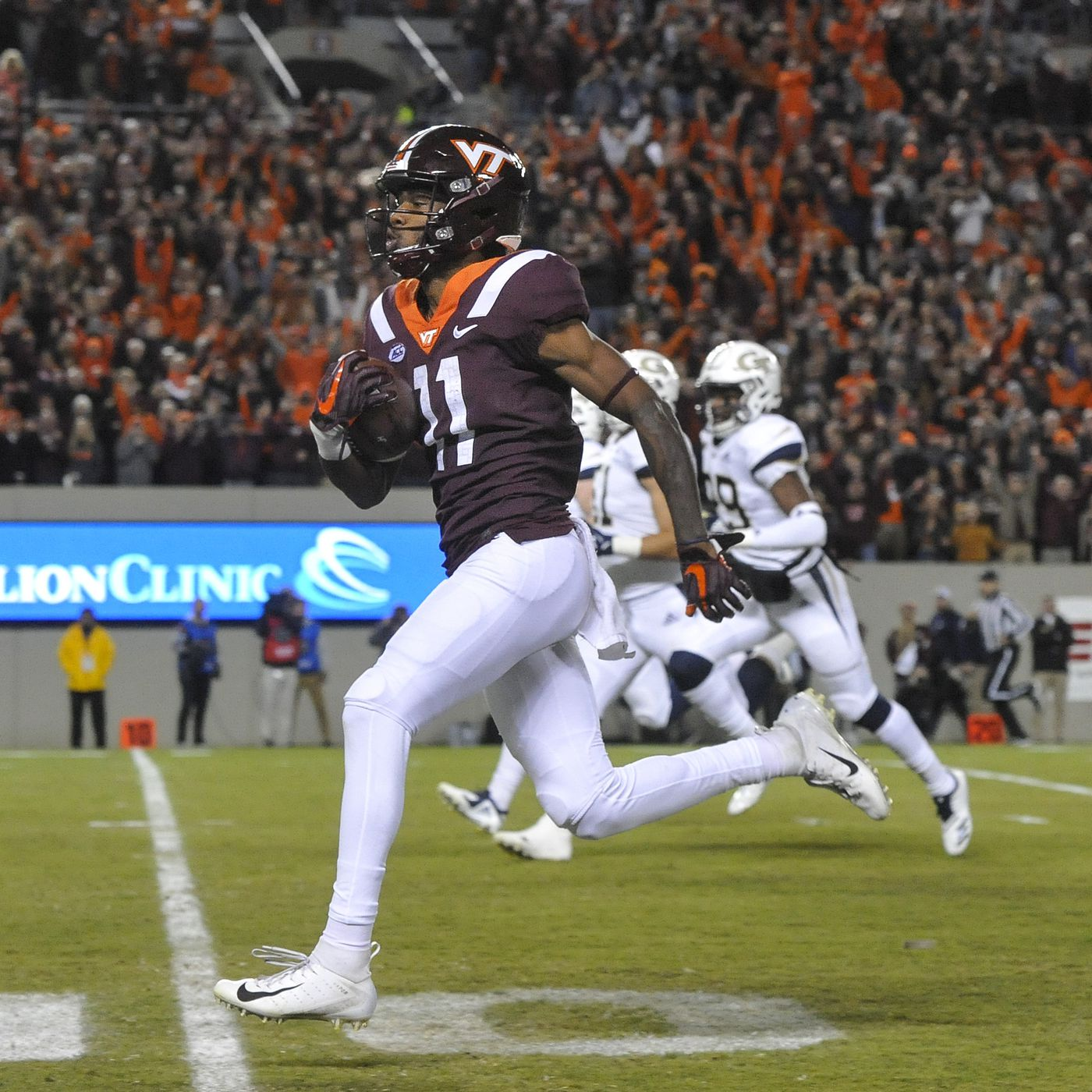 Virginia Tech Football 2019 Roster Preview Wide Receivers Tight Ends Gobbler Country