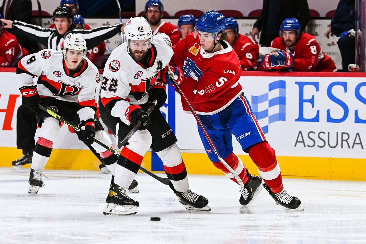 AHL: FEB 16 Belleville Senators at Laval Rocket