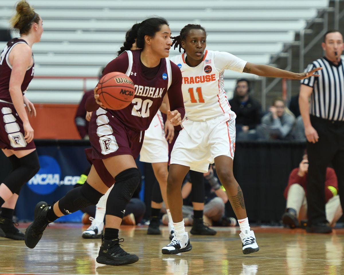 NCAA BASKETBALL: MAR 23 Div I Women's Championship - First Round - Fordham v Syracuse