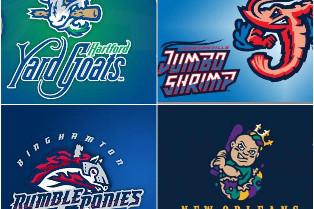 Baseball Teams Names List Minor league ba...