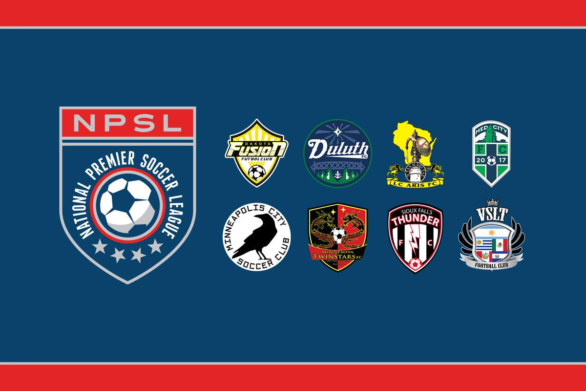NPSL North Conference logos