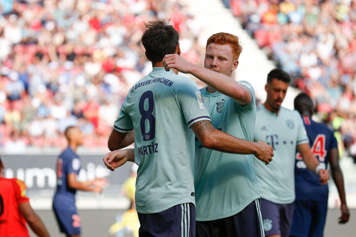 ICC 2018: Bayern surge in second half, beat PSG 3-1
