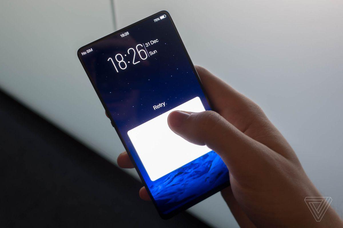 Vivo's 'Apex' concept phone has a 'half-screen' fingerprint