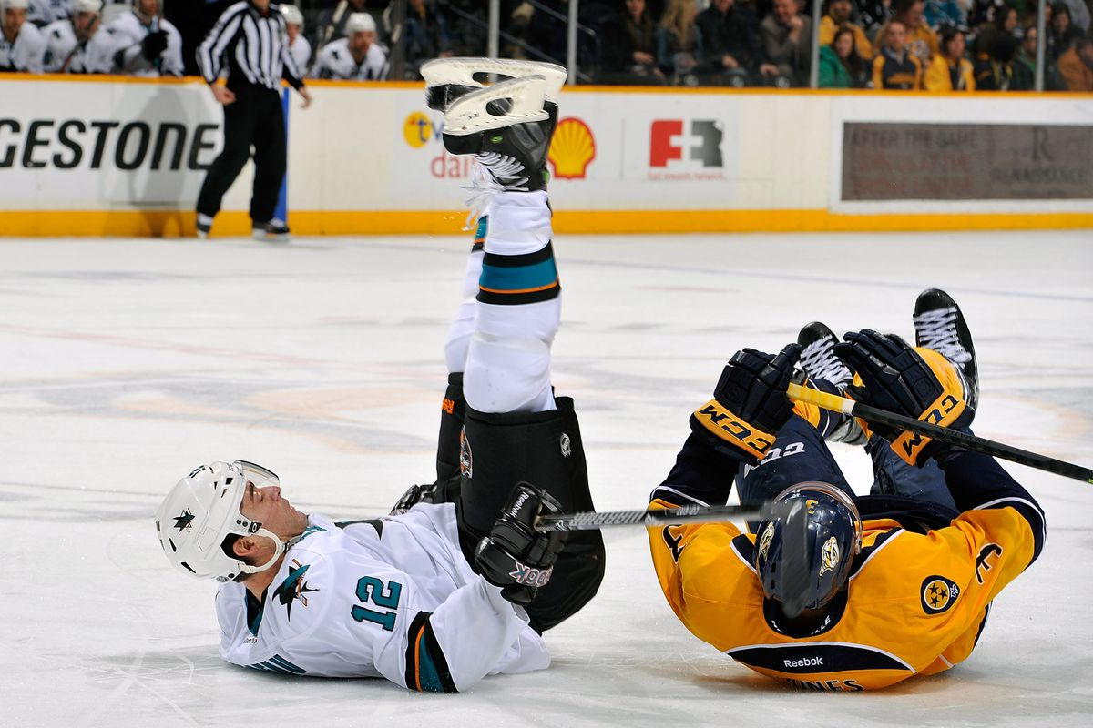 Patrick Marleau may never win the Lady Byng or this breakdance competition to save the orphanage.