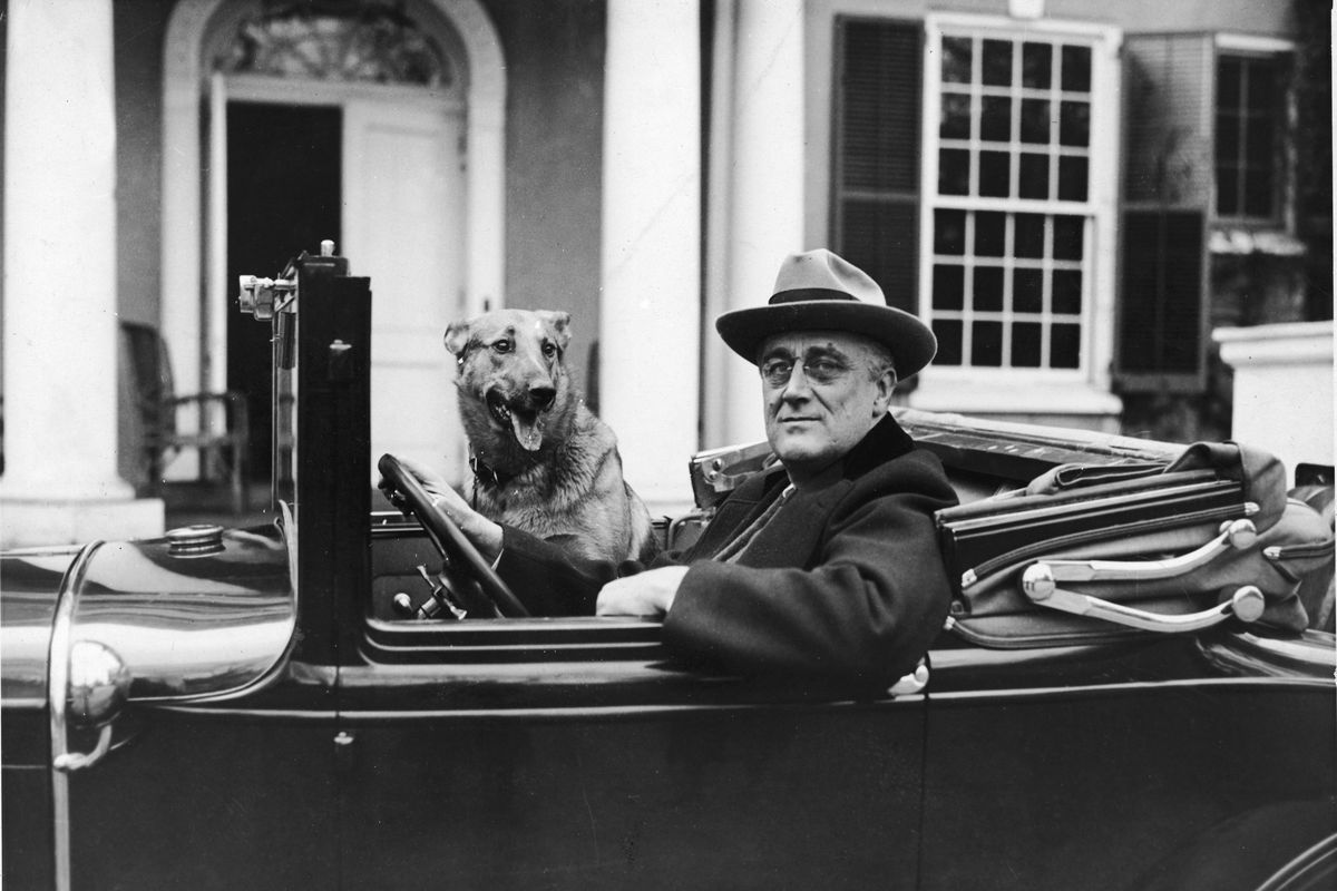FDR Behind The Wheel
