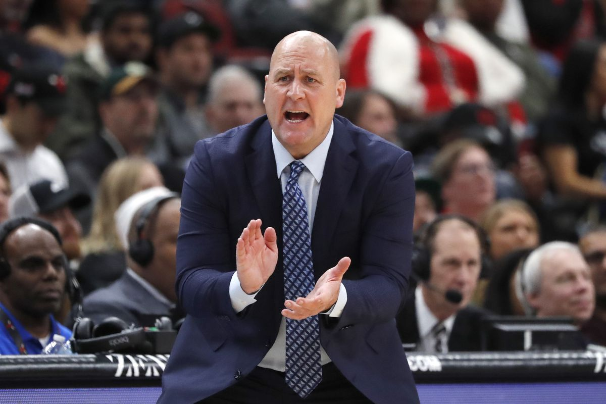 """""""Since I've been here I've never felt more supported than I am right now."""" Bulls coach Jim Boylen said of his relationship with the team's front office."""