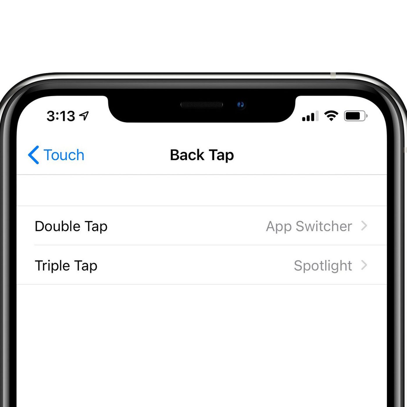Back-tap iOS 14.4 best feature