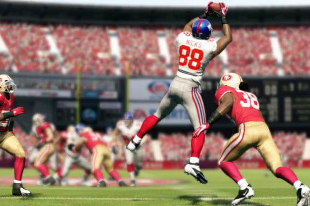 Madden NFL 13 demo Giants 49ers