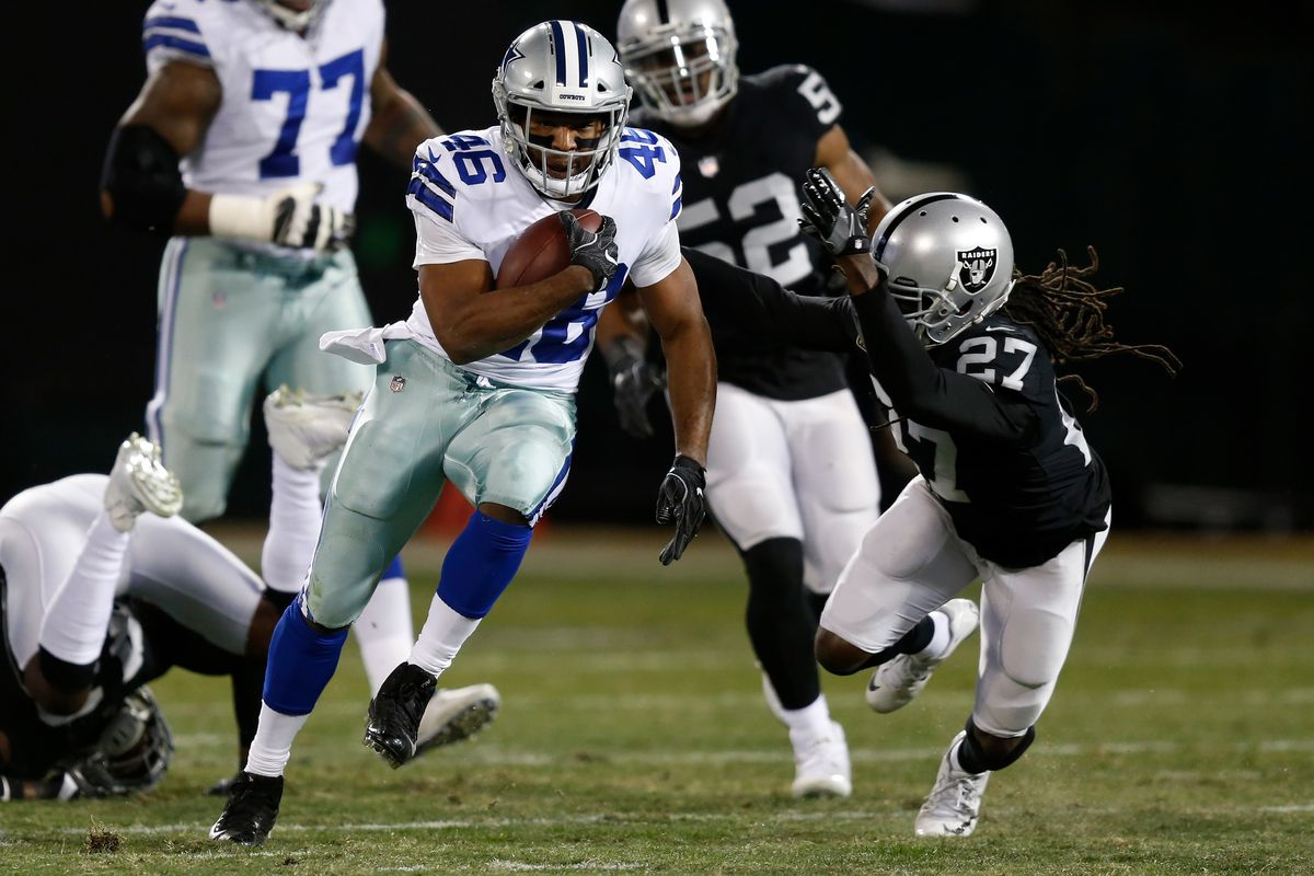 483ad1823fc Cowboys vs. Raiders 2017 live results  Score updates and highlights from   Sunday Night Football