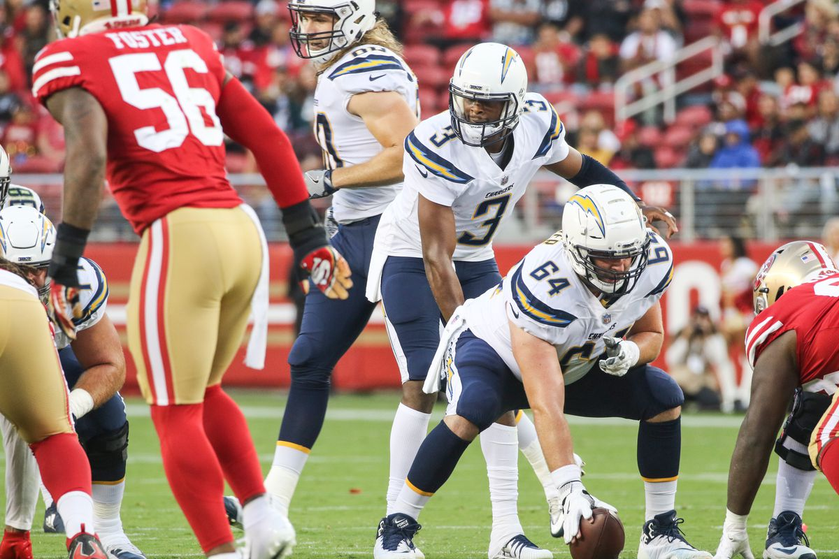NFL: AUG 30 Preseason - Chargers at 49ers