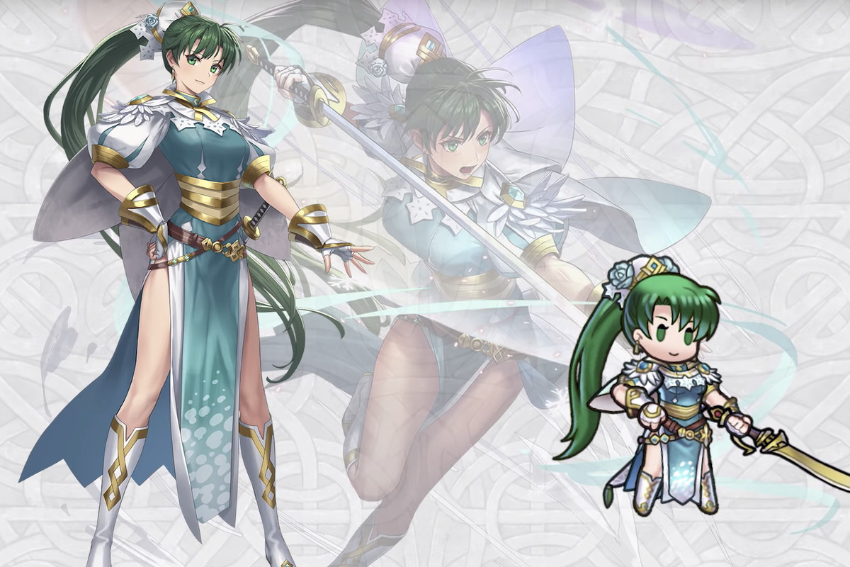 Lyn from Fire Emblem Heroes getting an exclusive stat-boosting skin, only available to subscribers of Feh Pass