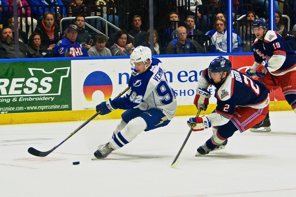 Syracuse Crunch forward Joel Vermin is number 24 on our Top 25 Under 25 list