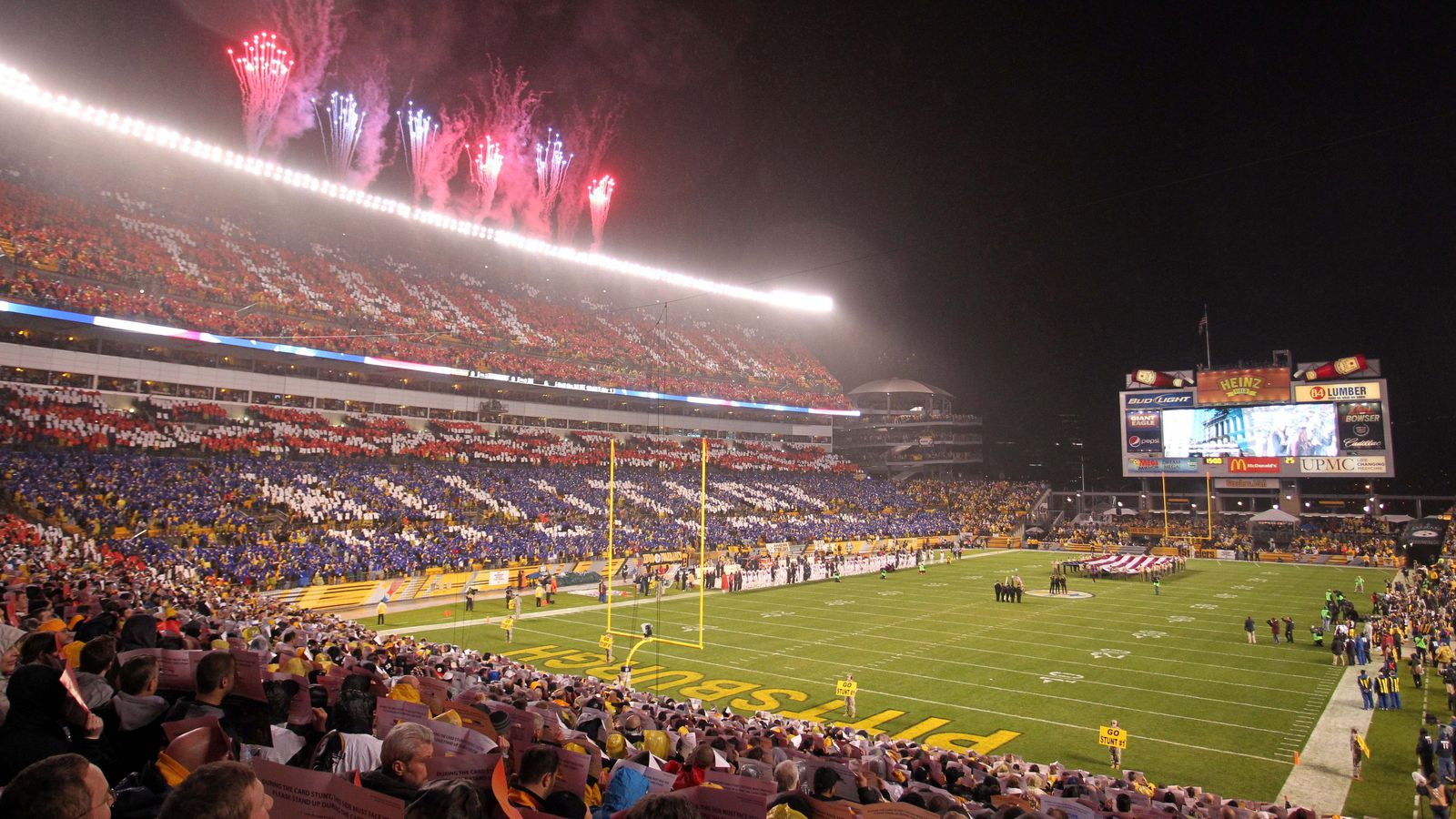 Man Cave Jumbotron : Heinz field is now a fully functional man cave behind