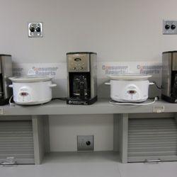 Crock pots and coffee machines