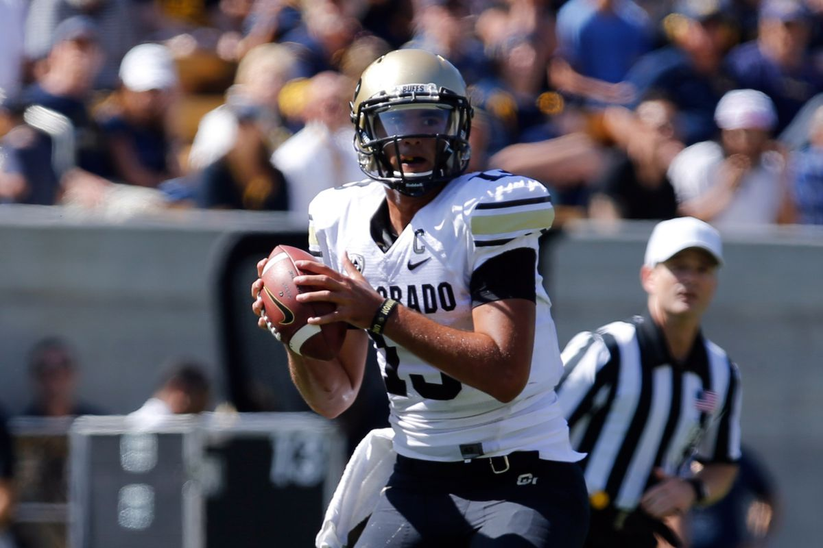 Sefo Liufau and the Buffs will look to outduel Sean Mannion and the Beavers this Saturday,