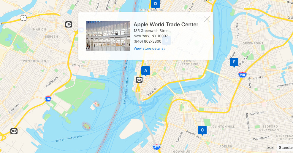 Apple Maps embeds have come to web browsers in beta