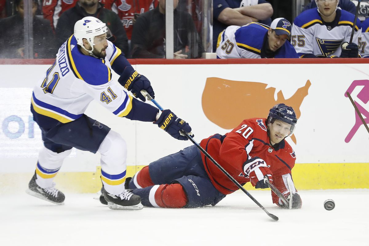 Capitals vs. Blues Recap  Caps Surrender Three Second-Period Goals ... a83ae862682
